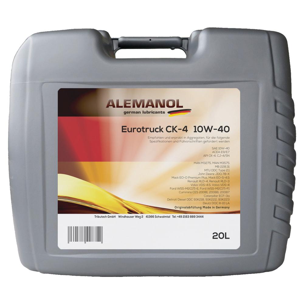 ALEMANOL Eurotruck CK-4 10W-40